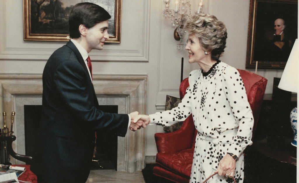Glenn Plaskin Ghostwriter At The White House with Nancy Reagan